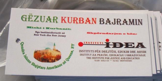 Shperndarja e Mishit te Kurbanit, 26-27.10.2012