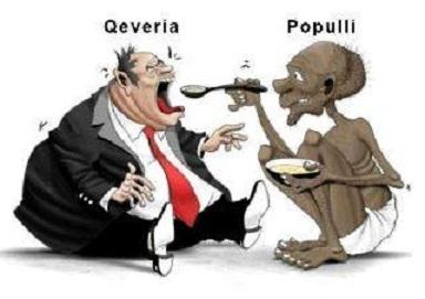 Pushtetarët duhet të jenë shërbëtorë të popullit, dhe jo shtypës dhe vrasës të tij!