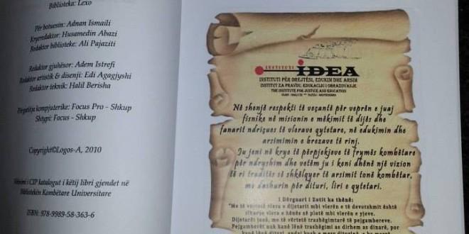 Instituti IDEA uron të gjithë mësuesit me rastin e 7 marsit, ditës së mësuesit.