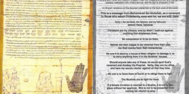 Letra e Profetit Muhamed që vlen deri në ditën e Kijametit: Ja çfarë thotë për të krishterët